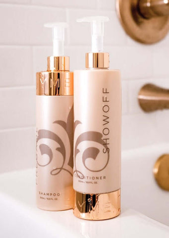 TYME Power Couple shampoo and conditioner