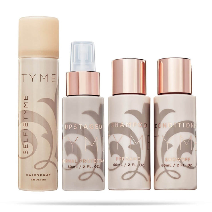 All TYME travel sized products together in one convenient bundle.