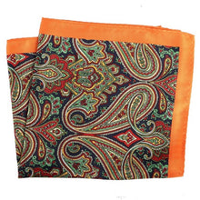 Load image into Gallery viewer, Paisley Pocket Square