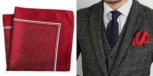 Micro Textured Formal Pocket Square