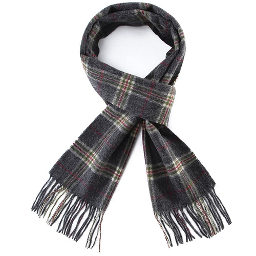 Multi-Checkered Scarf
