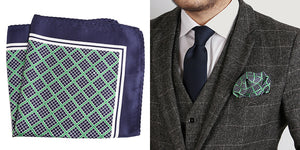 Formal Black Pocket Square