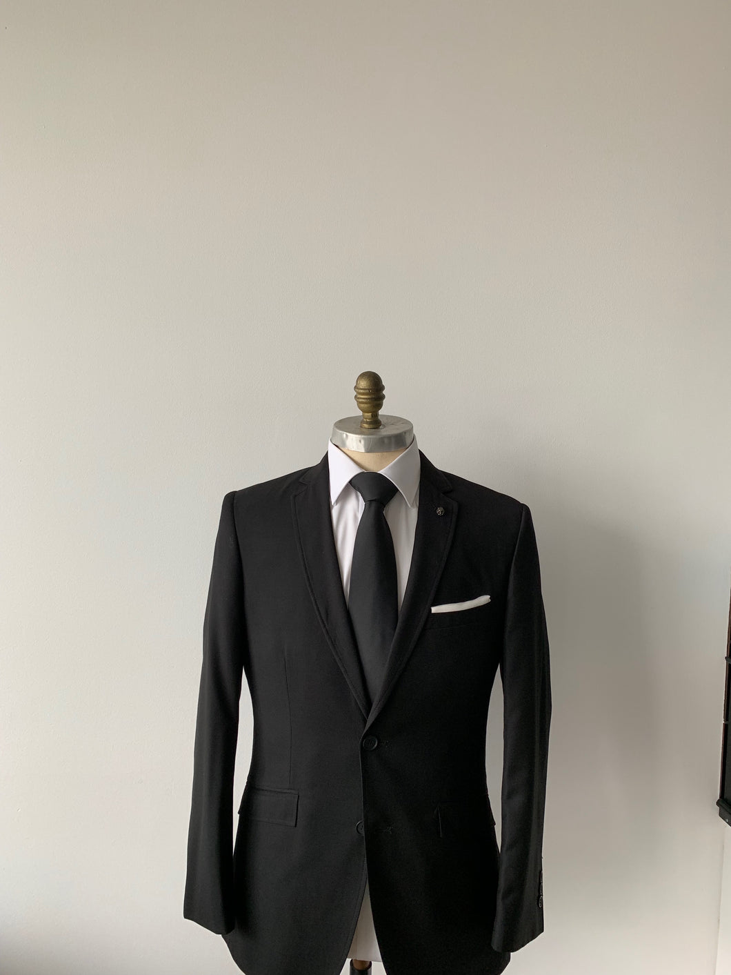 Black Slim Suit