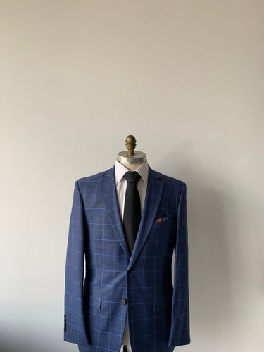 Blue Check Suit