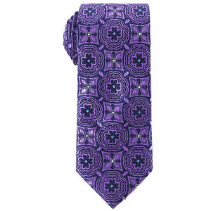 Vibrant Patterned Tie