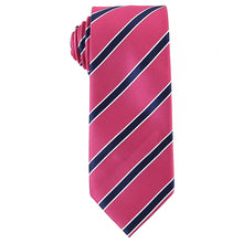 Load image into Gallery viewer, Pink Striped Tie