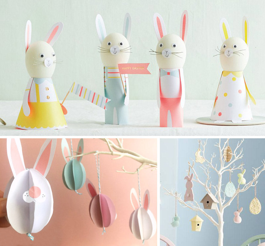 Easter tree decoration and craft ideas