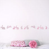 Rabbit Wall Border Sticker