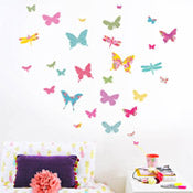 Shanghai Butterfly Wall Stickers