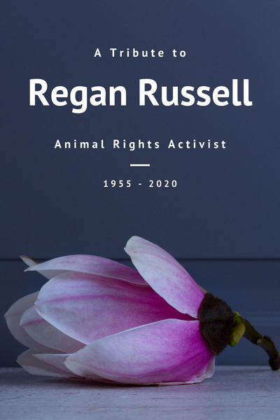 A Tribute to Regan Russell - May You Rest in Peace