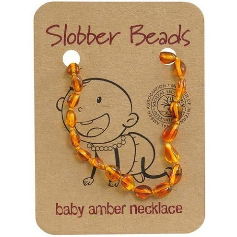 Slobber Beads Baby Multi Round Necklace