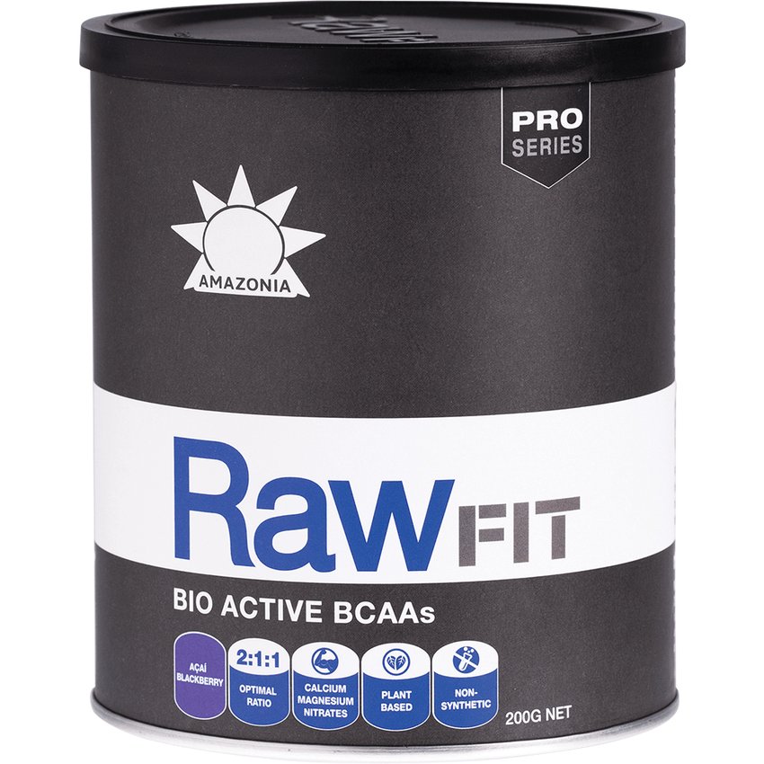 Amazonia Bio Active Bcaas Acai Blackberry 200g - vegan health food
