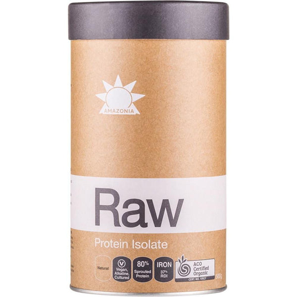 Amazonia Raw Protein Isolate Natural Flavour - in various sizes