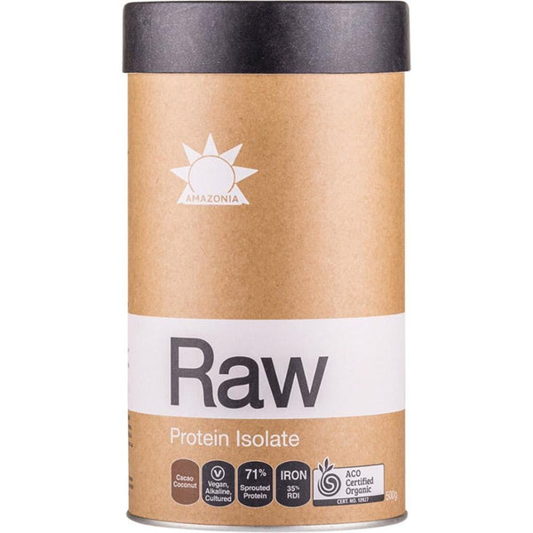 Amazonia Raw Protein Isolate Cacao & Coconut - in various sizes