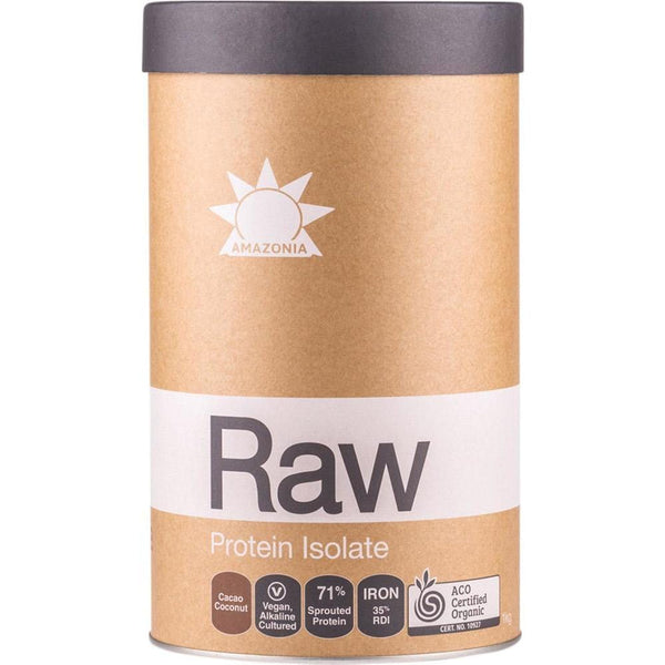 Amazonia Raw Protein Isolate Cacao & Coconut - in various sizes - The Vegan Town