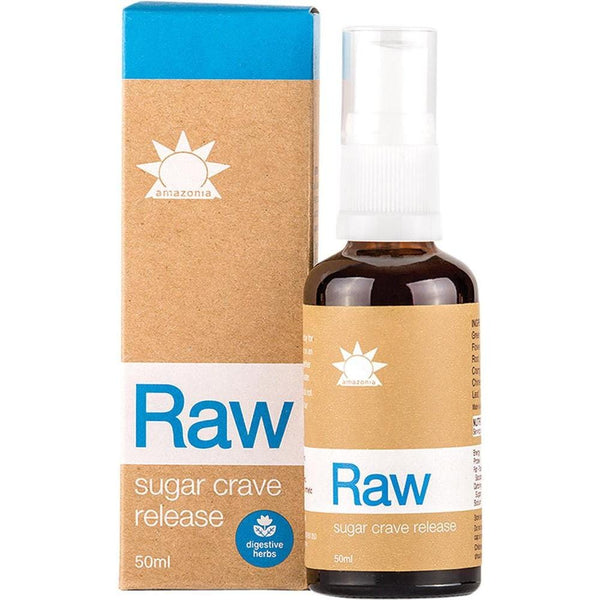 Amazonia Raw Sugar Crave Release Spray 50ml - The Vegan Town