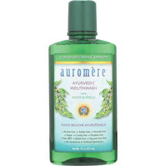 Auromere Mouthwash Ayurvedic Neem & Peelu 473ml - The Vegan Town