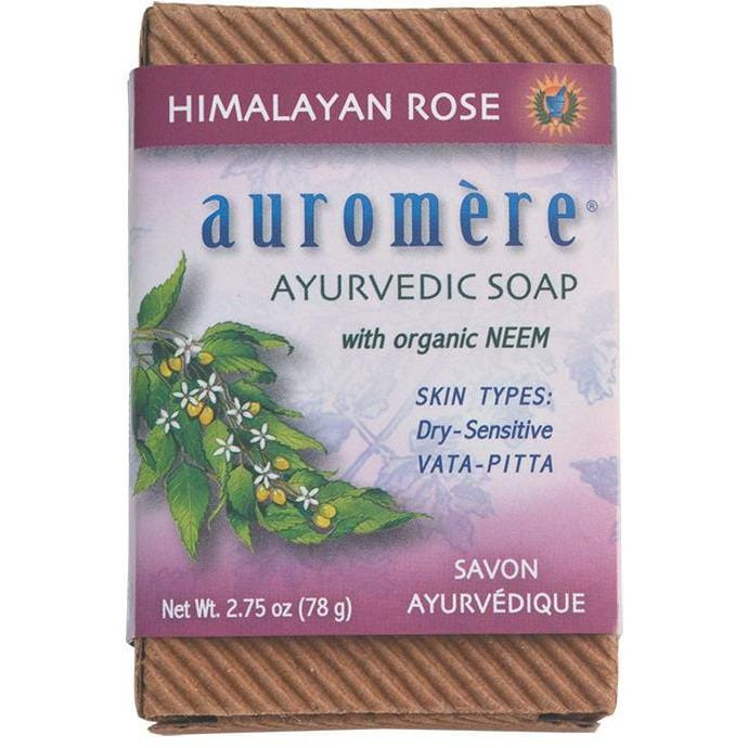 Auromere Neem Soap Ayurvedic 78g - in various scents - The Vegan Town