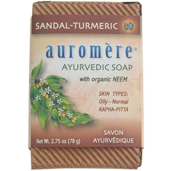 Auromere Neem Soap Ayurvedic 78g - in various scents - vegan products online