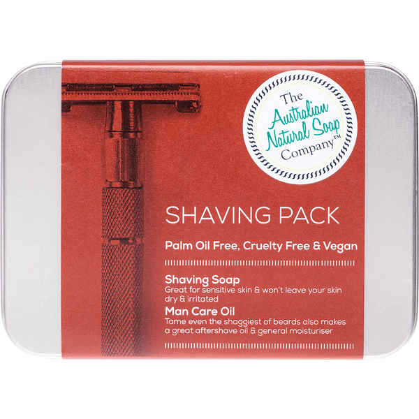 The Australian Natural Soap Company Shaving Pack