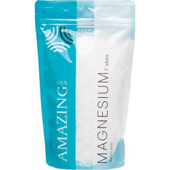 Amazing Oils Magnesium Bath Flakes - in various sizes - The Vegan Town