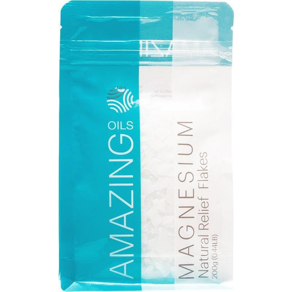 Amazing Oils Magnesium Bath Flakes - in various sizes