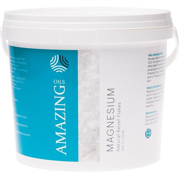 Amazing Oils Magnesium Bath Flakes - in various sizes - Vegan products