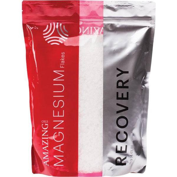 Amazing Oils Magnesium Recovery Bath Flakes 2kgs