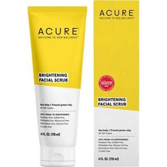 Acure Brightening Facial Scrub 118ml - The Vegan Town