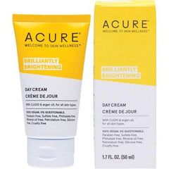 Acure Brilliantly Brightening Day Cream 50ml - vegan beauty
