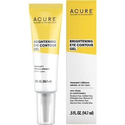 Acure Brightening Eye Contour Gel 14.7ml - vegan beauty