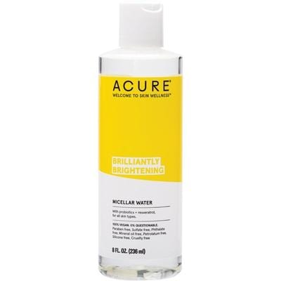 Acure Brilliantly Brightening Micellar Water 236ml - vegan beauty