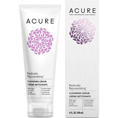 Acure Radically Rejuvenating Cleansing Cream 118ml - vegan beauty