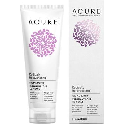 Acure Radically Rejuvenating Facial Scrub 118ml - vegan beauty