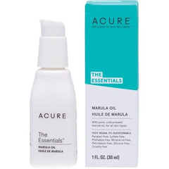 Acure The Essentials Marula Oil 30ml - vegan products