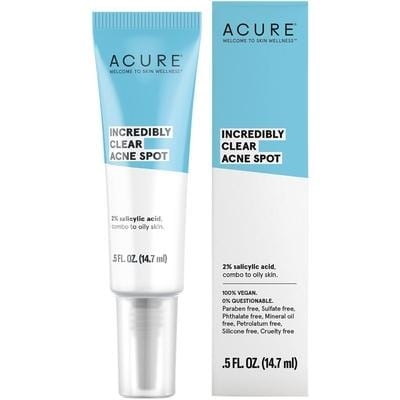 Acure Incredibly Clear Acne Spot 14.7ml - vegan beauty
