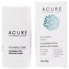 Acure Incredibly Clear Cleansing Stick 57g