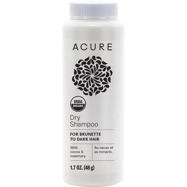 Acure Dry Shampoo for dark hair 48g - vegan hair products