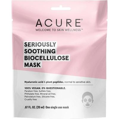 Acure Seriously Soothing Biocellulose Mask 20ml - The Vegan Town