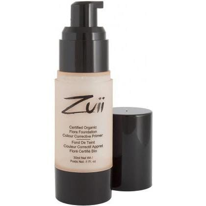 Zuii Organic Colour Corrective Foundation Primer Apricot 30ml Eliminates Dark Circles