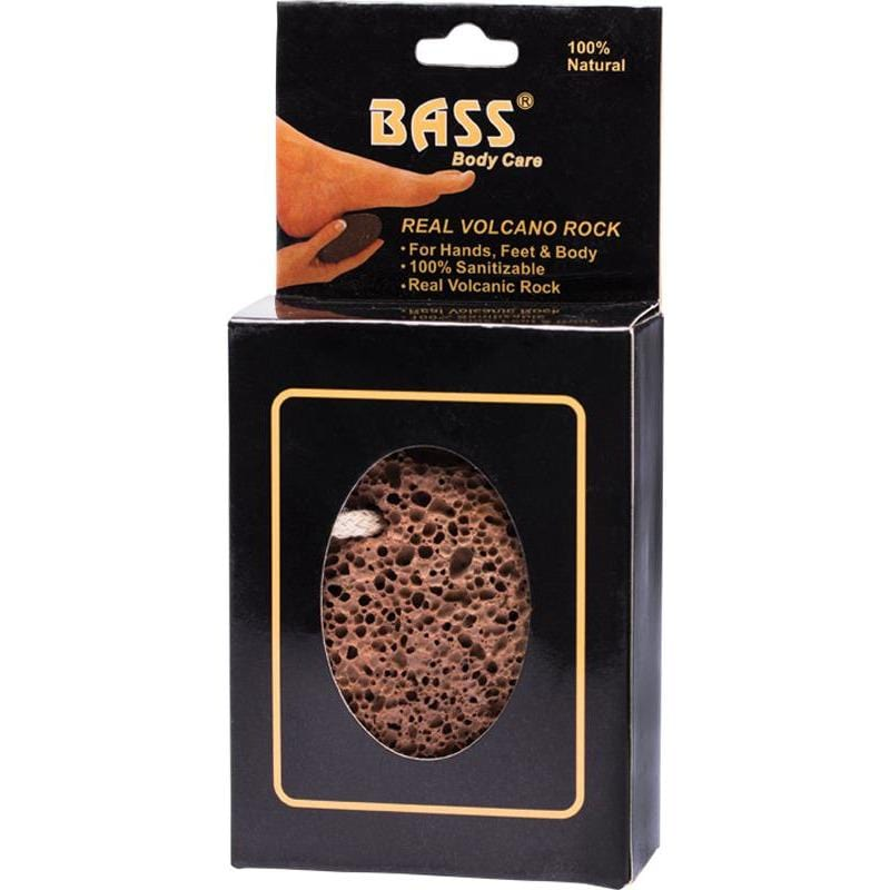 Bass Body Care Real Volcanic Rock for Hands, Feet & Body