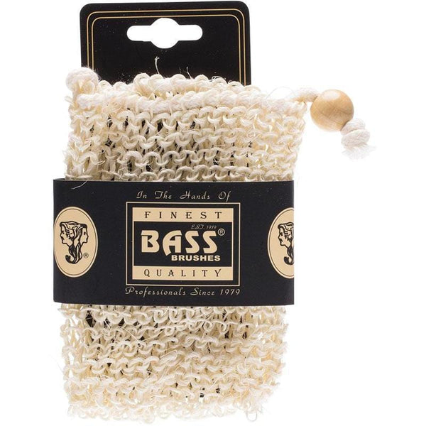 Bass Body Care Sisal Soap Holder Pouch