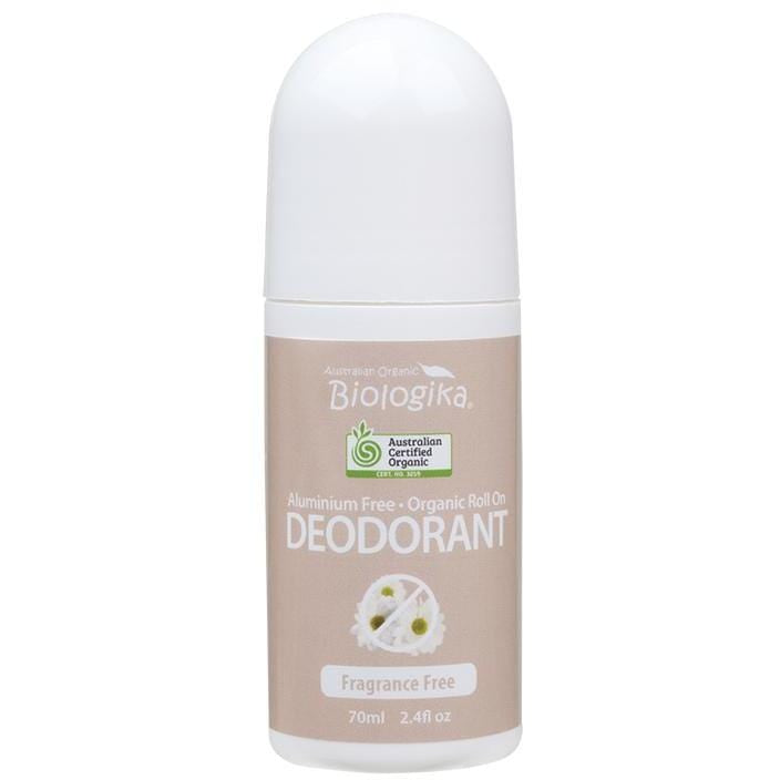 Biologika Roll-On Deodorant 70ml - in various fragrances - vegan deodorant
