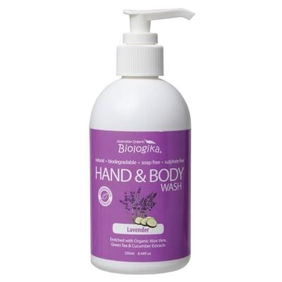 Biologika Hand & Body Wash 250ml - in variety of scents - vegan cosmetics