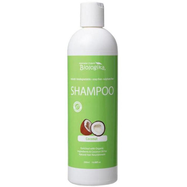 Biologika Coconut Shampoo - in various sizes - vegan hair products