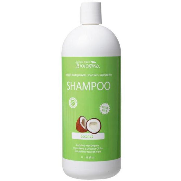 Biologika Coconut Shampoo - in various sizes - vegan hair produts