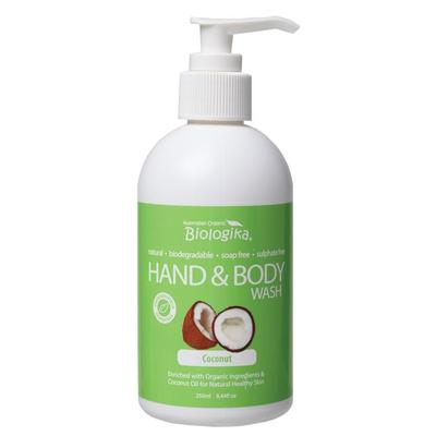 Biologika Coconut Hand & Body Wash - in various sizes - vegan beauty products