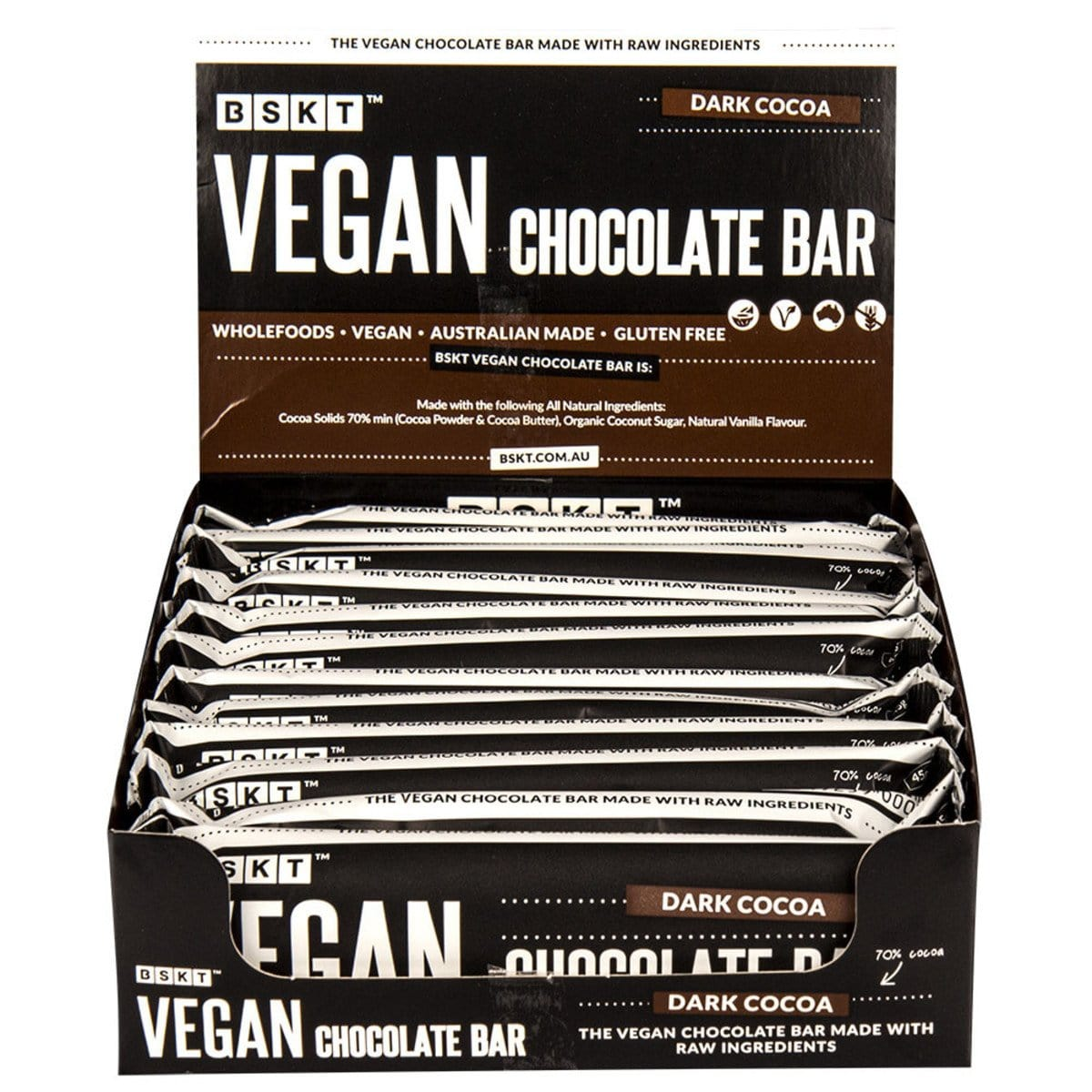 Image of BSKT Vegan Chocolate Bar 45g
