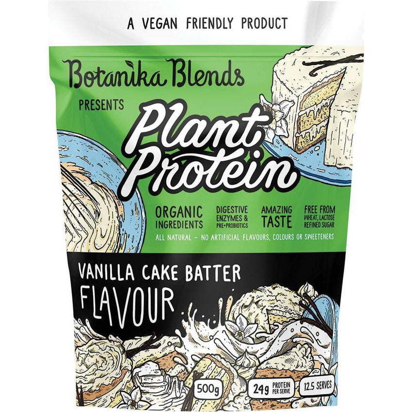Botanika Blends Plant Protein Vanilla Cake Batter - in various sizes - The Vegan Town