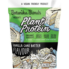 Botanika Blends Plant Protein Vanilla Cake Batter - in various sizes